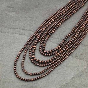 Navajo Style Pearl Necklace